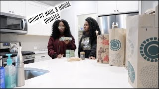 Grocery Haul & House Updates