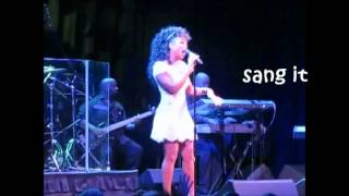 Chante Moore whistles an F7 (live)