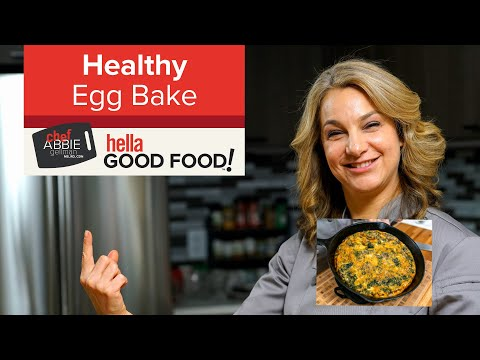 Healthy Egg Bake