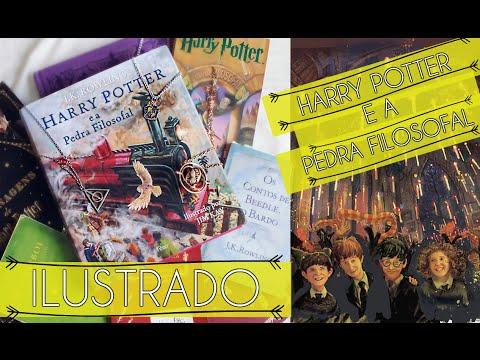 HARRY POTTER E A PEDRA FILOSOFAL ILUSTRADO