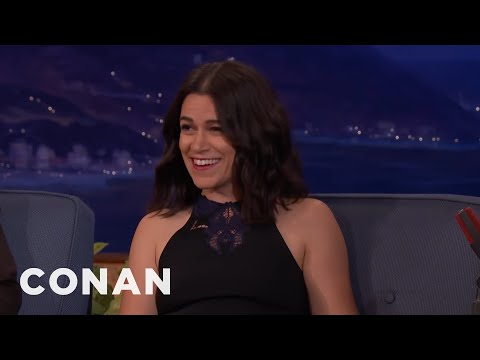"Abbi Jacobson Doesn't Smoke As Much As Her ""Broad City"" Character  - CONAN on TBS"