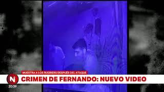RUGBIERS FILMADOS DESPUÉS DEL CRIMEN EN VILLA GESELL - Telefe Noticias