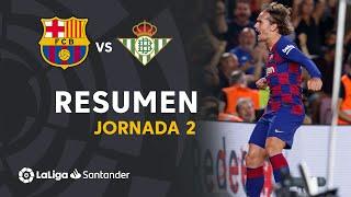Highlights FC Barcelona vs Real Betis (5-2)