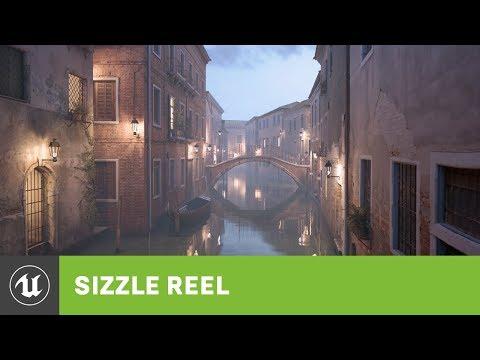 Unreal Engine смотреть онлайн видео в отличном качестве и