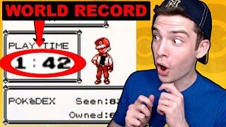 PokéTuber Reacts to World Record Speedrun of Pokémon Red