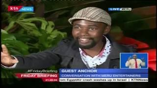 Guest Anchor: MC Ashy and Kamanu from Meru county, 8th July 2016 Part 1
