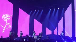 [방탄소년단 (BTS)] 181009 LYS IN LONDON TALK+MAGIC HSOP FANCAM
