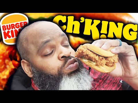 NEW Burger King Ch'King Review