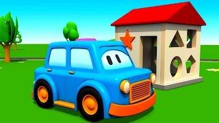 Умные машинки Clever cars Лучшие мультики 2015 для малышей. Развивающие игры: фигуры для детей