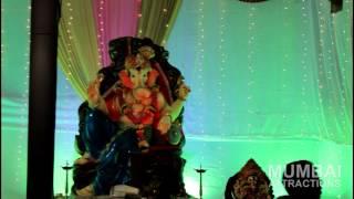 preview picture of video 'Mumbai Ganesh Chaturthi 2014 : Moksh Plaza | Borivali West'