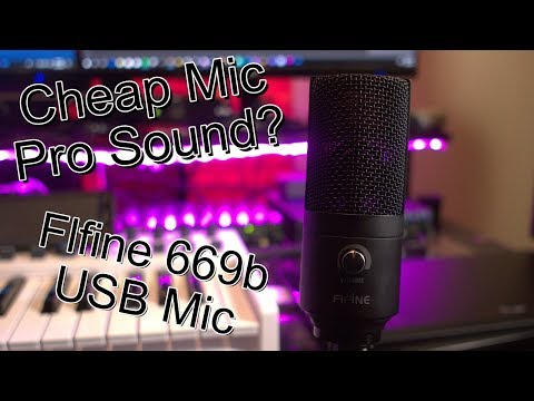 Can A Cheap Mic Sound Good? – Fifine usb microphone 669b Product Review