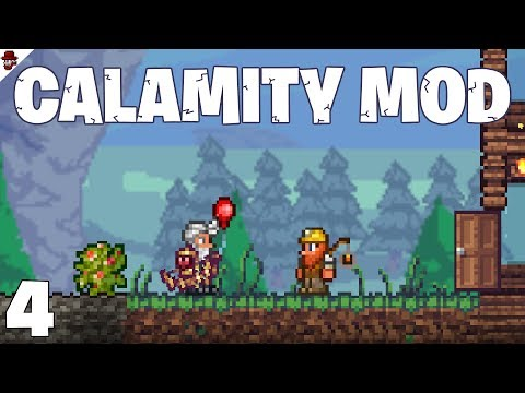 Terraria # 4 crafting our success! - Calamity Mod Let's Play