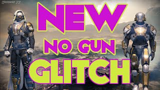 NEW no gun GLITCH destiny. (Works after Rise of Iron)