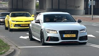Sportcars & Modified Cars Accelerating! Audi RS7, Aventador SV, C63S, 720S & More!