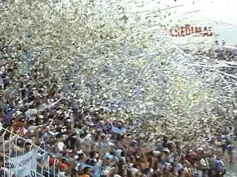 """""""Atletico Tucuman - chacarita RECIBIMIENTO"""" Barra: La Inimitable • Club: Atlético Tucumán"""