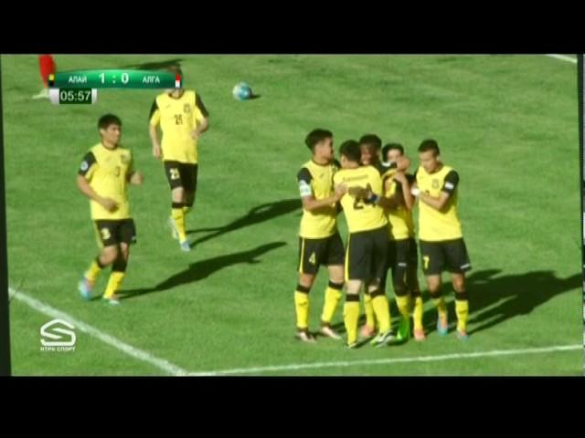 Топ-Лига-2017. Матч#24 Алай – Алга 4:2