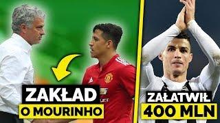 Założył się, że ZWOLNIĄ MOURINHO! Wygrał 20.000 FUNTÓW! Ronaldo załatwia Juventusowi 400 MILIONÓW!