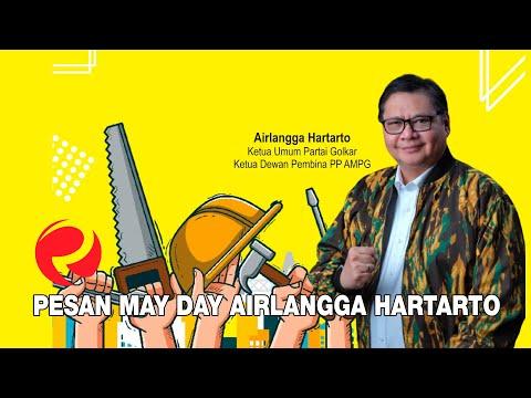 Pesan May Day Airlangga Hartarto
