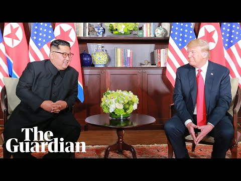 Setkání Donalda Trumpa a Kim Čong-una v Singapuru
