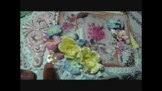 Country Escape Altered Jewelry Box  For Wild Orchid Crafts DT