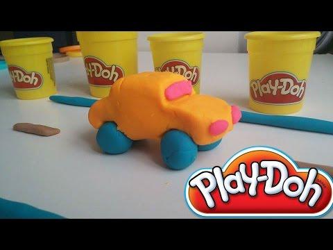 Play Doh Videos - How to make Play Doh Cars - Play Dough Car - Play Doh Coche en Espanol