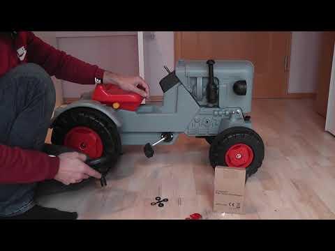 Eicher ED 16 Trettraktor von Big Vorstellung und Auspacken [Unboxing] | Oldtimer Traktoren