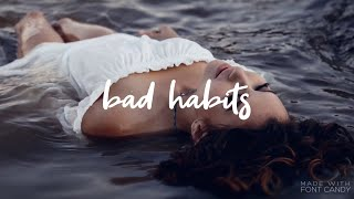 Delaney Jane   Bad Habits [Lyrics]