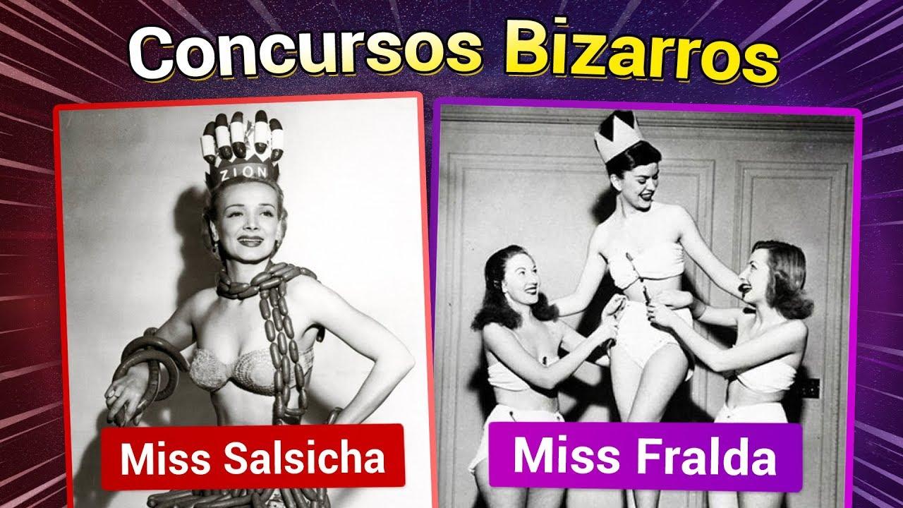 Os concursos de Miss Universo mais estranhos!