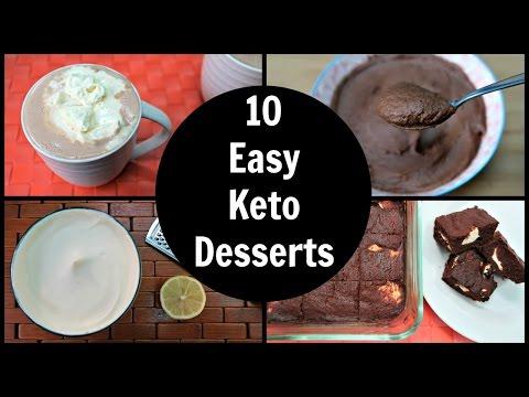 10 Easy Keto Desserts | Low Carb Dessert Recipes & Ideas