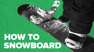 Snowboard for beginners — Step 1 — How to Start Snowboarding