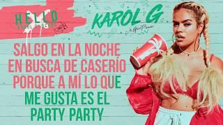Karol G   Hello [Karaoke]