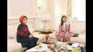 Мехрибан Алиева встретилась с первой леди Туреции Эмине Эрдоган