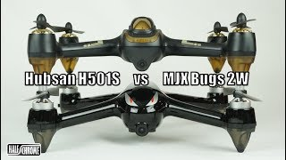 Half Chrome: Hubsan H501S vs MJX Bugs 2W, Which is the BEST $200 Drone?