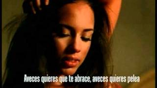 When you really love someone - Alicia Keys (Video)