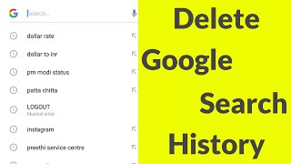 How To Delete Google Search History On Android Mobile & Remove All Search Bar Suggestions-2020