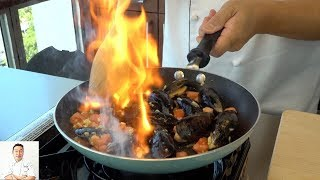 2 Minute Black Mussels Spanish Tapas | How To Make Series