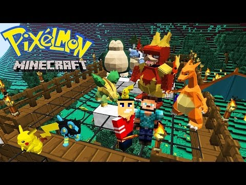 Minecraft Walkthrough - Tree House & Pokemon - PIXELMON PARADISE