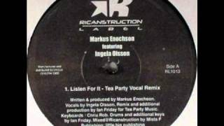 Markus Enochson feat Ingela Olsson - Listen For It (Ian Friday's Tea Party Vocal)