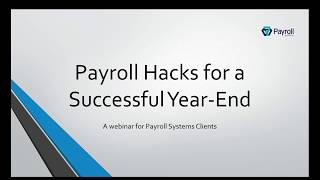Payroll Hacks for a Successful Year-End