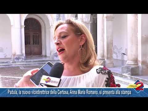 Padula, la nuova vicedirettrice della Certosa di San Lorenzo è Anna Maria Romano