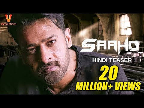 Download Saaho - Official Hindi Teaser | Prabhas, Sujeeth | UV Creations HD Mp4 3GP Video and MP3