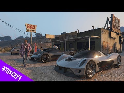 GTA 5 ONLINE RAT RACE RUNNERS DEWBAUCHEE VAGNER CAR MOVIE INDEPENDENCE DAY #THXRXPY  (XB1)