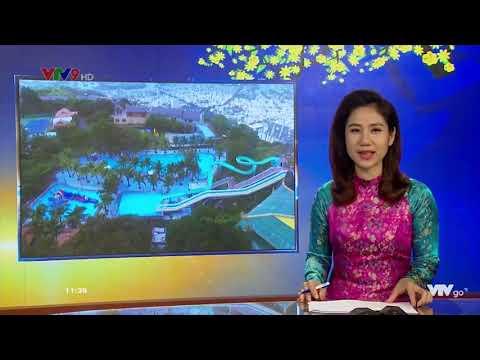 Hồ Mây Park Vũng Tàu ra mắt Nhạc Nước Mapping 2019 lên sóng tin tức VTV9