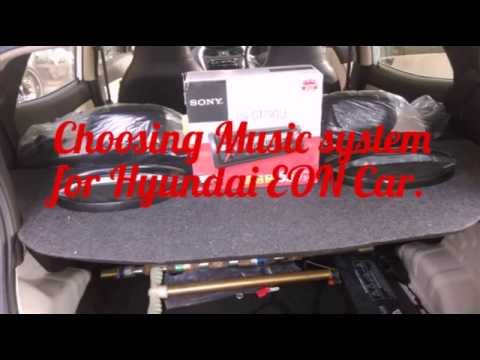 Music system for Hyundai EON Car