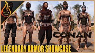 Conan Exiles Legendary Armor Showcase