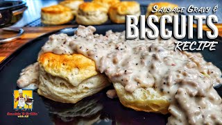 Country Style Sausage And Gravy | Biscuits And Gravy