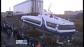 Спущенная на воду «Комета» отправилась в Севастополь, а не в Сочи