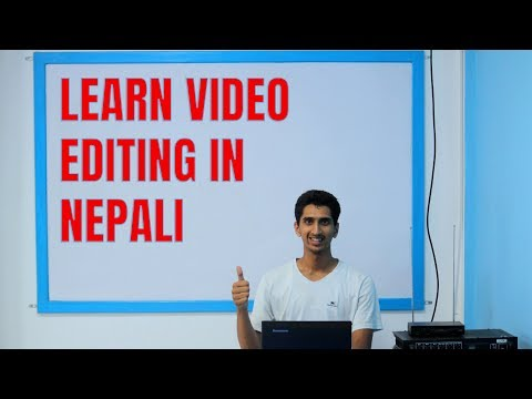 Complete Video Editing Tutorial In Nepali