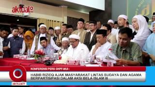 Habib Rieziq Ajak Masyarakat Lintas Agama Dan Budaya Berpartisipasi Dalam Aksi Bela Islam III