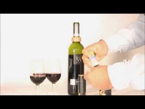 Corta Gotas para Botellas de Vino e Identificador de Copas!